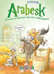 Arabesk 2 Nieuwe avonturen ridderpaard CVR.indd