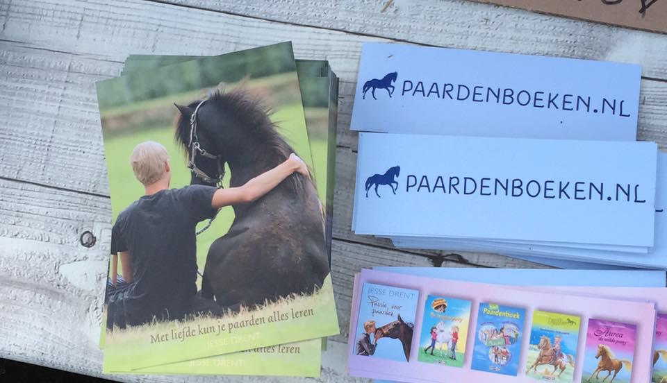 Onder meer op horse event was paardenboeken.nl er ook bij!