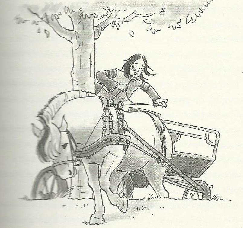 Pepijn in de sloot - illustratie van ivan & Ilia