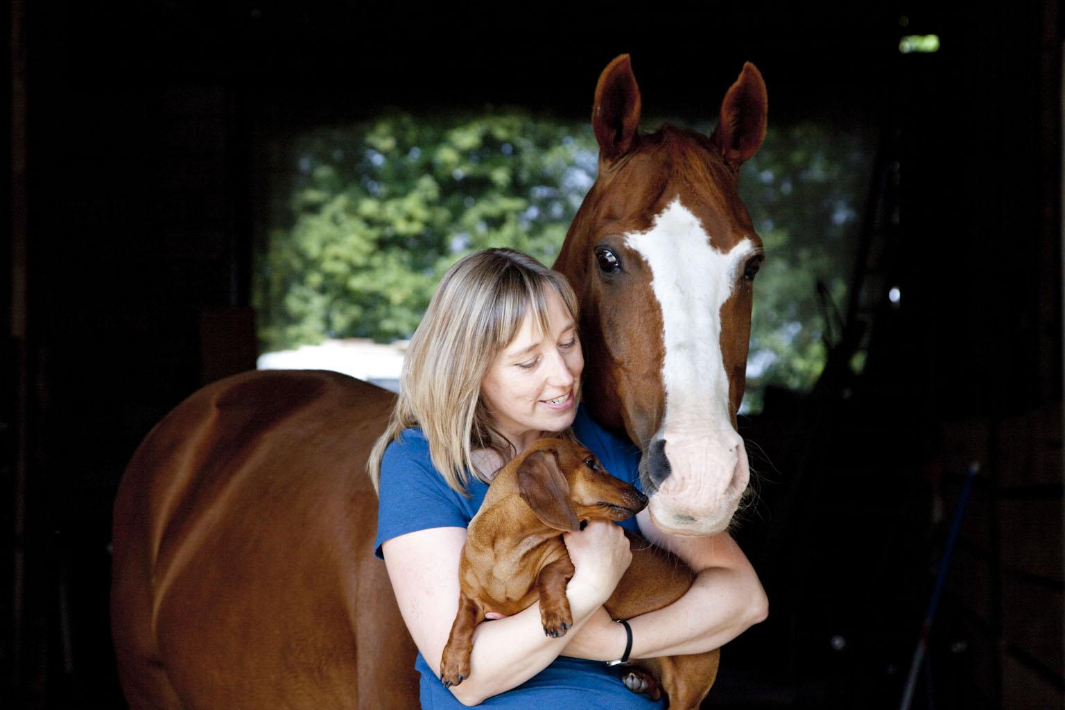 Marjan Tulp houdt van dieren - en van paarden!